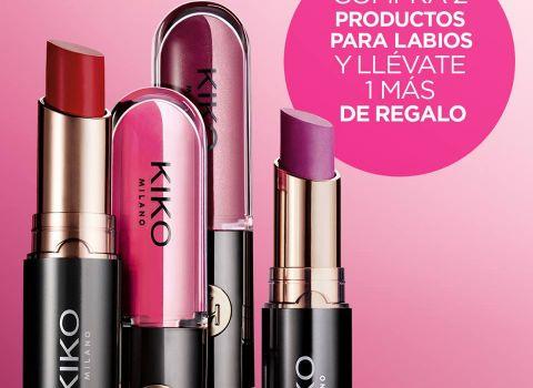 Promoción labiales Kiko Milano