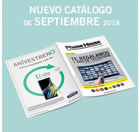 Catálogo de septiembre The Phone House