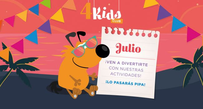 4 Kids Club Julio