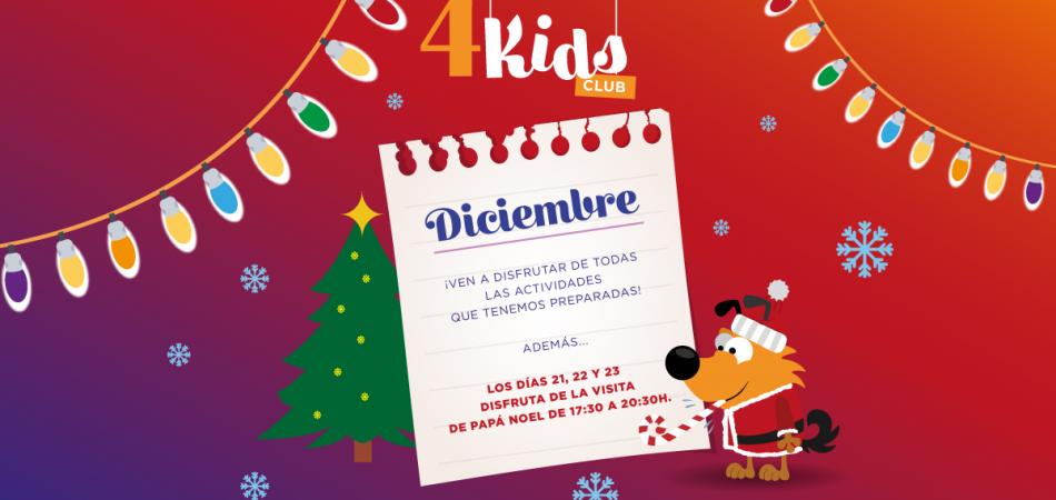 4 Kids Club diciembre