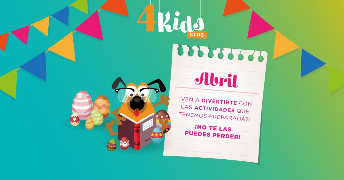 4 Kids Club abril